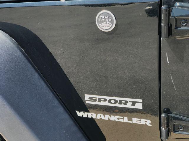 2012 Jeep Wrangler Sport Ogden, Utah 8
