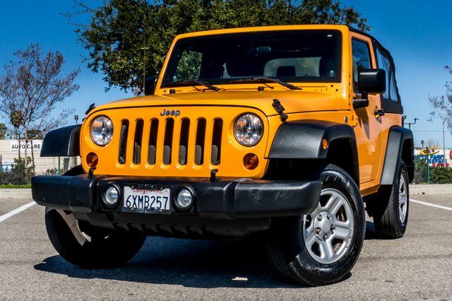 2012 Jeep Wrangler Sport Reseda, CA 2