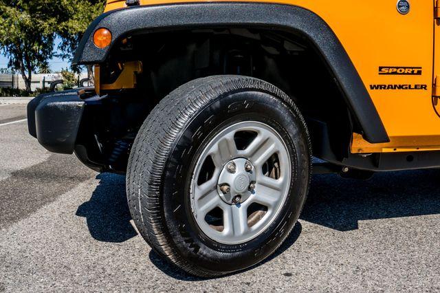 2012 Jeep Wrangler Sport Reseda, CA 12