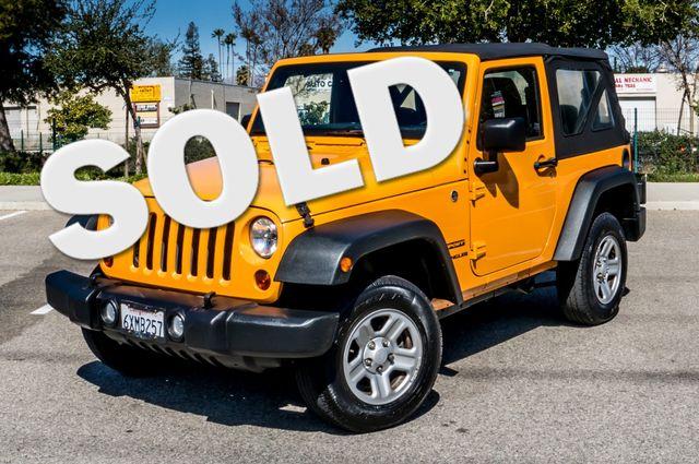 2012 Jeep Wrangler Sport Reseda, CA 0