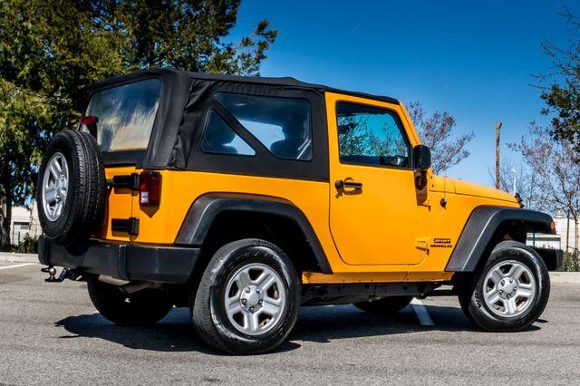 2012 Jeep Wrangler Sport Reseda, CA 10