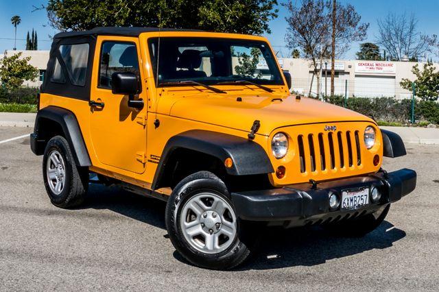 2012 Jeep Wrangler Sport Reseda, CA 42