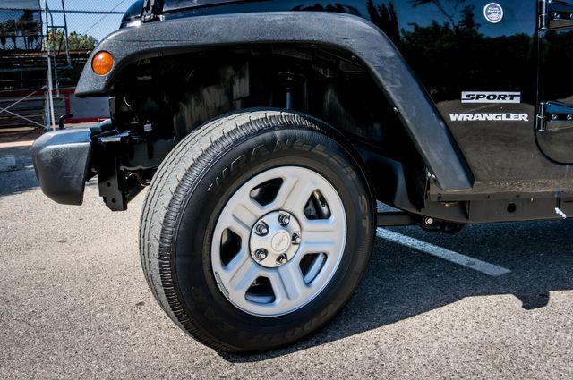 2012 Jeep Wrangler Sport Reseda, CA 11