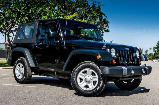 2012 Jeep Wrangler Sport Reseda, CA 3