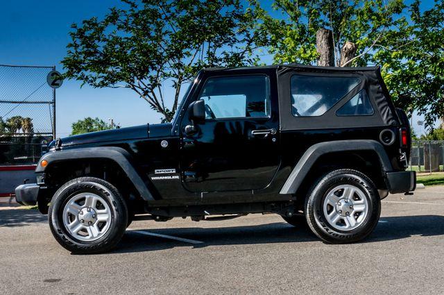2012 Jeep Wrangler Sport Reseda, CA 4