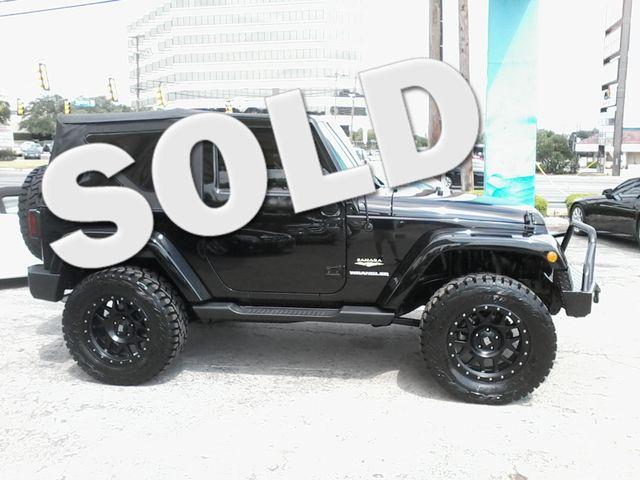 2012 Jeep Wrangler Sahara San Antonio, Texas 0