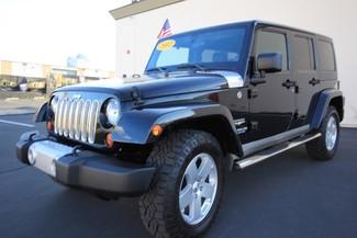 2012 Jeep Wrangler Unlimited* 4DR* 4X4* RARE MANUAL* HARDTOP Sahara* NAVI* PREM SOUND* CHROME* TOW PKG* WOW Las Vegas, Nevada