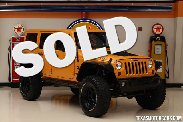 2012 Jeep Wrangler Unlimited Sahara Financing is available with rates as low as 29 wac Get pr