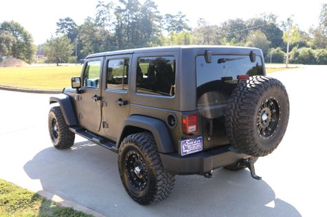 2012 Jeep Wrangler Unlimited Sport 4wd Auto  LINE X PAINT JOB LIFTED 35S ON 17S LOTS OF EXTRAS SERVICED DETAILED READY TO GEAUX   Baton Rouge , Louisiana   Saia Auto Consultants LLC in Baton Rouge , Louisiana