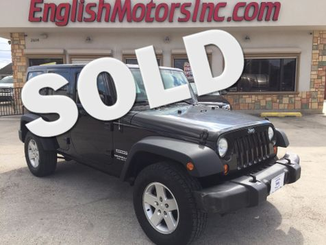 2012 Jeep Wrangler Unlimited Sport in Brownsville, TX