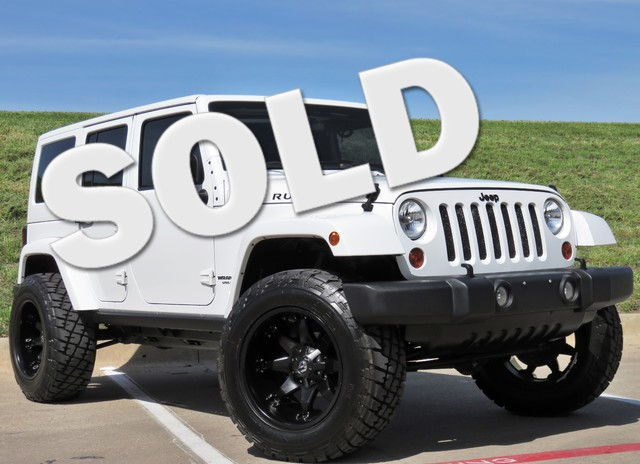 2012 Jeep Wrangler Unlimited Rubicon  VIN 1C4HJWFG9CL117778 46k miles  AMFM CD Player Anti-