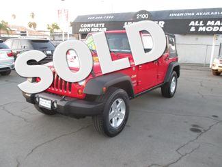2012 Jeep Wrangler 4WD Unlimited Sport Costa Mesa, California