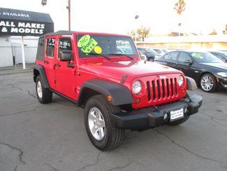 2012 Jeep Wrangler 4WD Unlimited Sport Costa Mesa, California 2