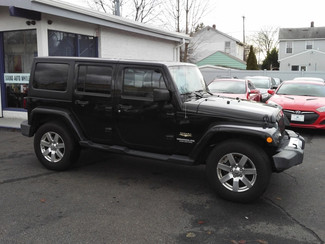 2012 Jeep Wrangler Unlimited Sahara East Haven, CT 4