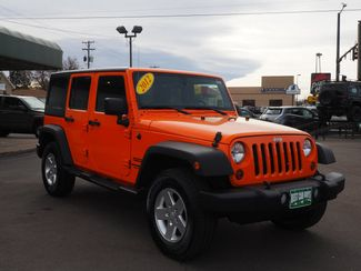 2012 Jeep Wrangler Unlimited Sport Englewood, CO 2