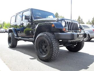 2012 Jeep Wrangler Unlimited Lifted Altitude Bend, Oregon 2