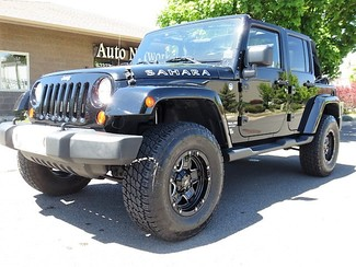 2012 Jeep Wrangler Unlimited LIFTED NAVIGATION Sahara Bend, Oregon