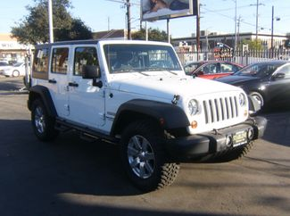 2012 Jeep Wrangler Unlimited Sport Los Angeles, CA 4