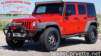 2012 Jeep Wrangler Unlimited in Lubbock Texas