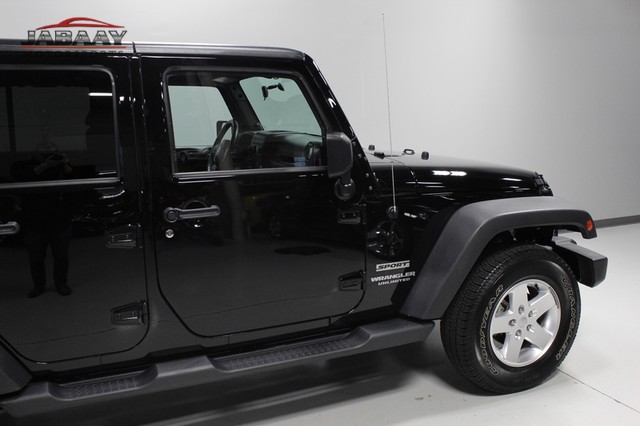 2012 Jeep Wrangler Unlimited Sport Merrillville, Indiana 36