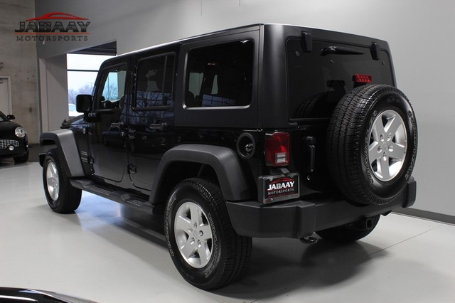 2012 Jeep Wrangler Unlimited Sport Merrillville, Indiana 2