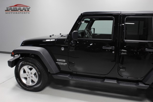 2012 Jeep Wrangler Unlimited Sport Merrillville, Indiana 29
