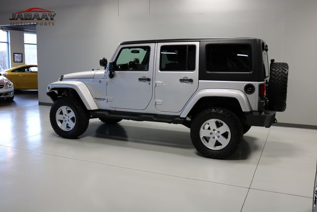 2012 Jeep Wrangler Unlimited Sahara Merrillville, Indiana 35