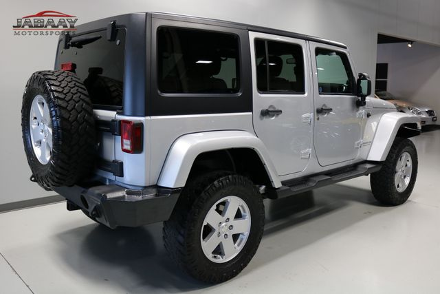 2012 Jeep Wrangler Unlimited Sahara Merrillville, Indiana 4