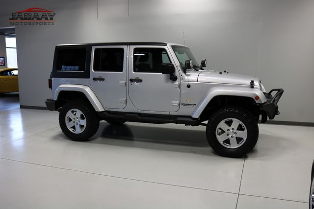 2012 Jeep Wrangler Unlimited Sahara Merrillville, Indiana 41