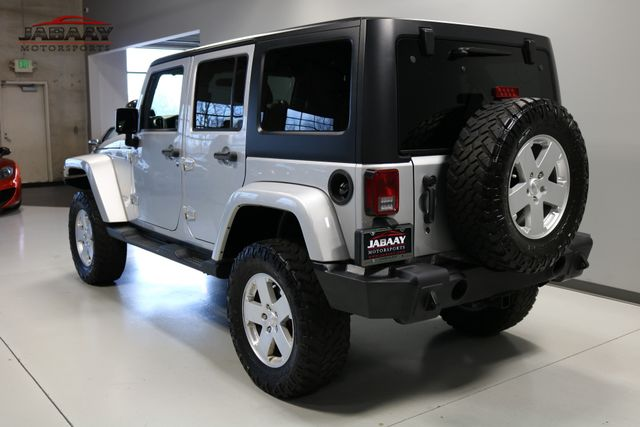 2012 Jeep Wrangler Unlimited Sahara Merrillville, Indiana 2