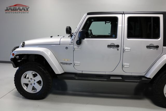 2012 Jeep Wrangler Unlimited Sahara Merrillville, Indiana 30