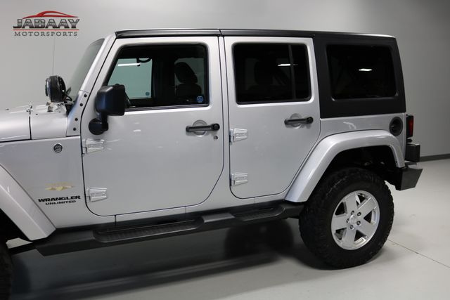 2012 Jeep Wrangler Unlimited Sahara Merrillville, Indiana 31