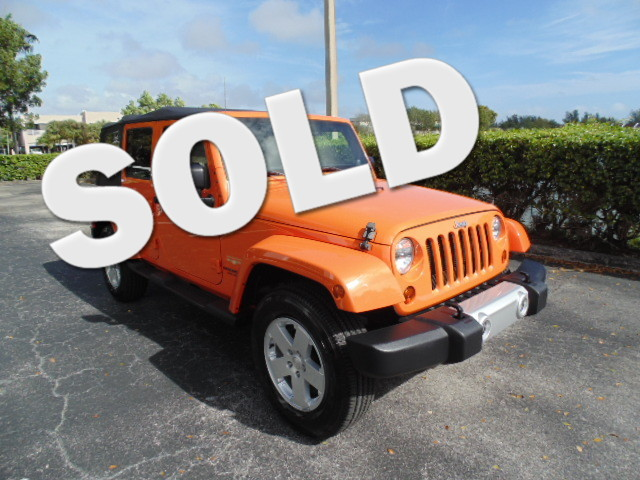 2012 Jeep Wrangler Unlimited Sahara Excellent Condition CARFAX 1-Owner JUST REPRICED FROM 28