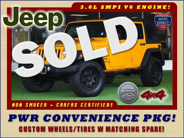 2012 Jeep Wrangler Unlimited Sport 4x4 - POWER PKG - CUSTOM WHEELS Mooresville , NC 0