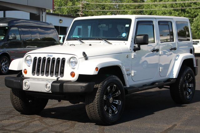 2012 Jeep Wrangler Unlimited Sahara 4X4 - LOTS OF EXTRA$! Mooresville , NC 23