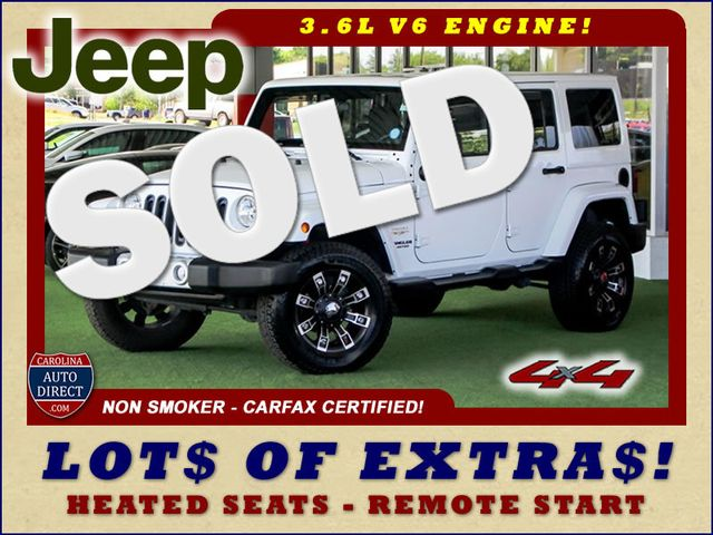 2012 Jeep Wrangler Unlimited Sahara 4X4 - LOTS OF EXTRA$! Mooresville , NC 0
