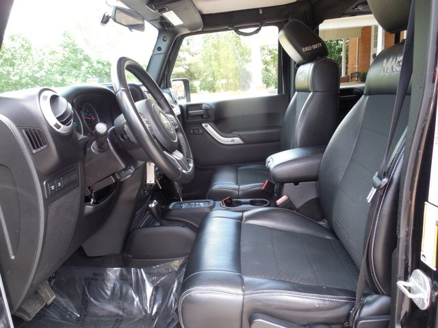 2012 Jeep Wrangler Unlimited Rubicon Call of Duty MW3 Leesburg, Virginia 15