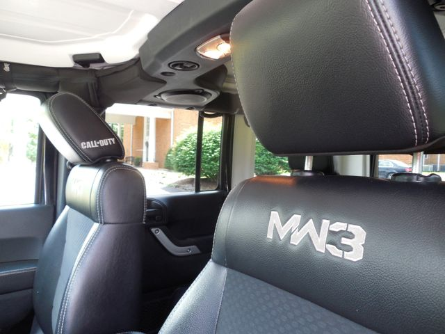2012 Jeep Wrangler Unlimited Rubicon Call of Duty MW3 Leesburg, Virginia 16