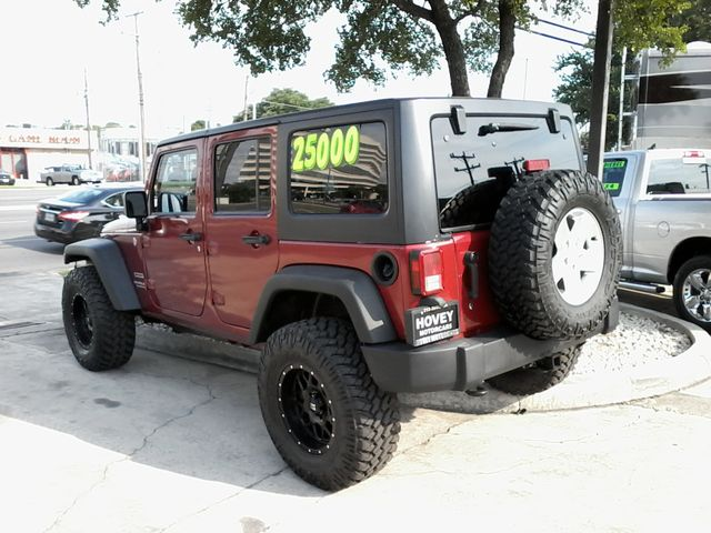 2012 Jeep Wrangler Unlimited Sport San Antonio, Texas 8