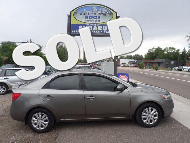 2012 Kia-Almost New! Forte EX Golden, Colorado 0