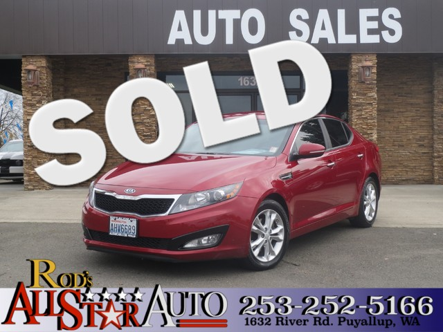 2012 Kia Optima EX The CARFAX Buy Back Guarantee that comes with this vehicle means that you can b