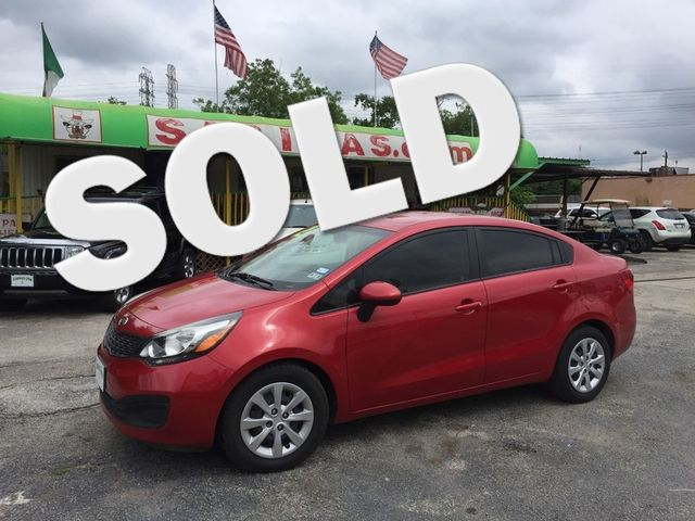 2012 Kia Rio LX Houston, TX 0