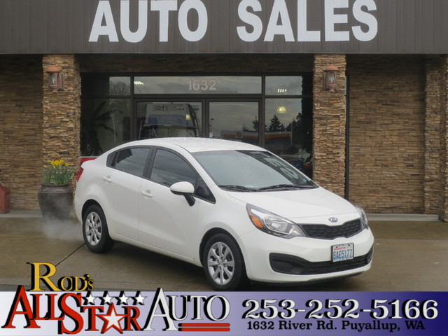 2012 Kia Rio LX The CARFAX Buy Back Guarantee that comes with this vehicle means that you can buy