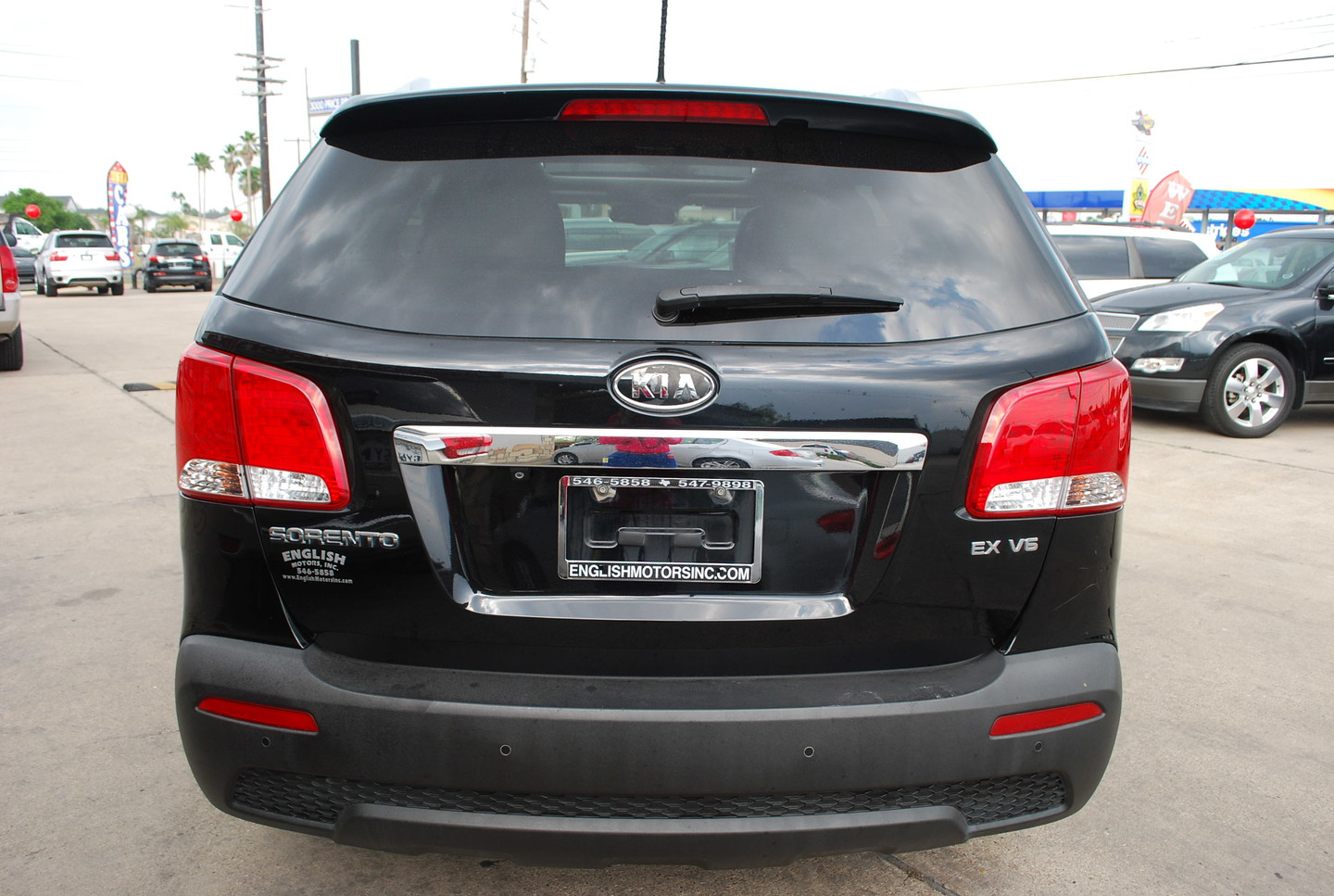 2012 kia sorento ex brownsville tx english motors. Black Bedroom Furniture Sets. Home Design Ideas