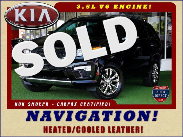 2012 Kia Sorento SX FWD - NAV - HEATED/COOLED LEATHER! Mooresville , NC 0