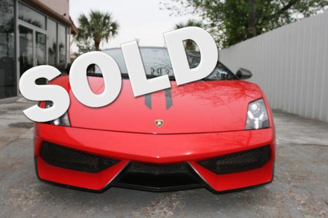 2012 Lamborghini Gallardo Performante Houston, Texas 0