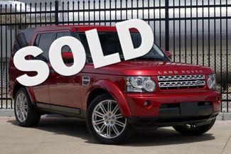2012 Land Rover LR4 HSE * LUX PKG * 20's * Keyless * NAVI * 3rd Row * Plano, Texas