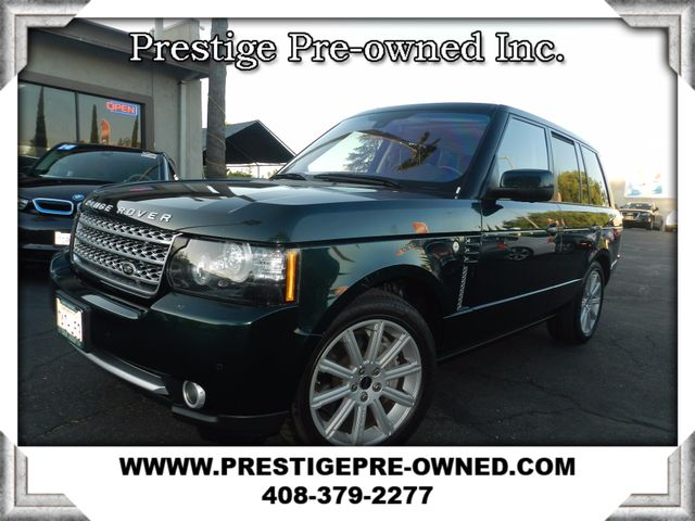 2012 Land Rover Range Rover SC  in Campbell CA