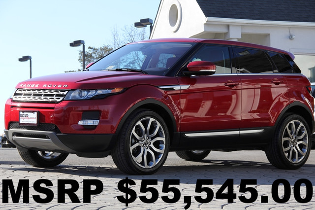2012 LAND ROVER Range Rover Evoque AWD Prestige 4dr SUV AMFM CD Player CD Changer Anti-Theft S