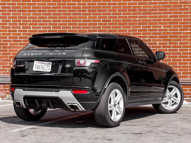 2012 Land Rover Range Rover Evoque Dynamic Premium Burbank, CA 3